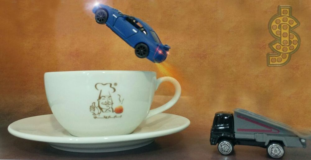 Mini Miniature Minicar Cup Coffee Tea Sugar Pappaeoti Abudhabi Dubai United Arab Emirates Germany United States United Kingdom Russia ASIA Taking Photos Hello World Hi! Miniatures Fun Preiser Art Dubaipolice