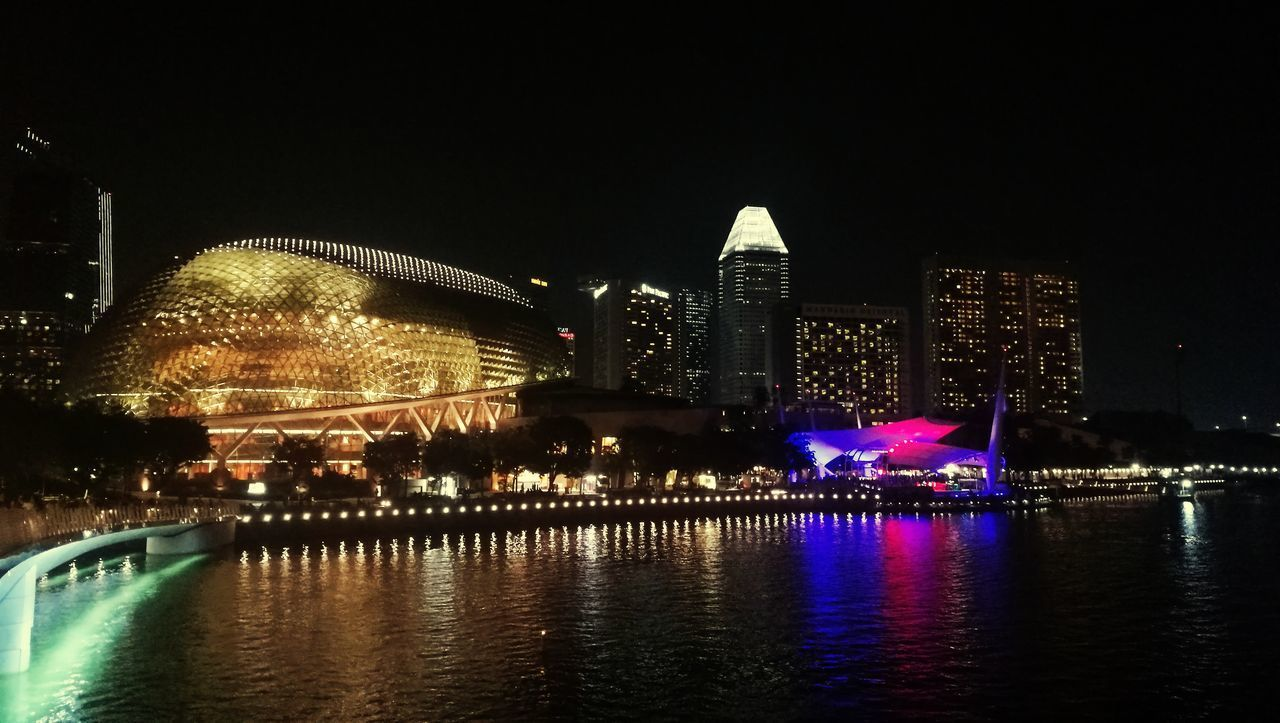 night, architecture, built structure, illuminated, building exterior, water, city, waterfront, travel destinations, river, sky, reflection, tourism, travel, no people, building, arts culture and entertainment, nature, office building exterior, outdoors, skyscraper, cityscape, government, nightlife