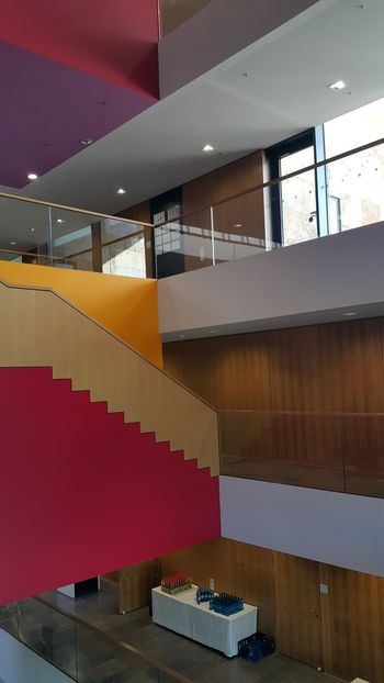 University Frankfurt Am Main Goethe University Staircase City City Life Architecture Building Urban Scene Layered Building Story General View Residential Structure