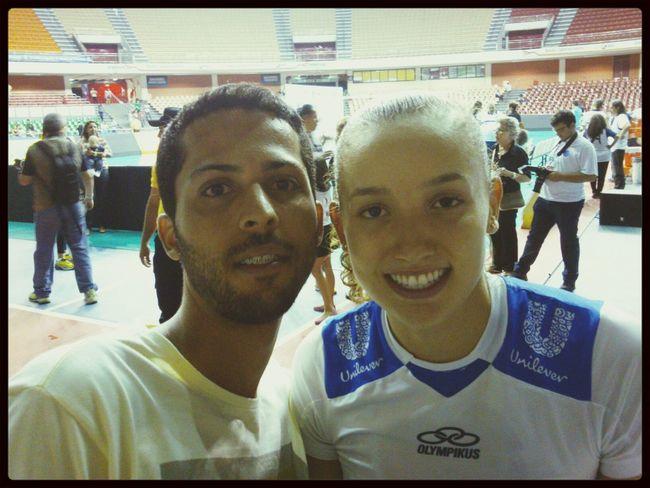 Gabi pequena que joga muito! Brasília, Brasil Voleibol Superliga Volei