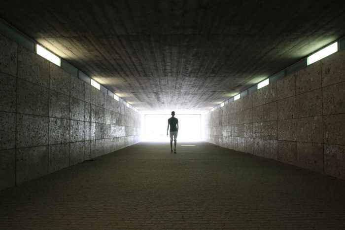 München,Germany Tadaa Community Bayern Englischer Garten Light And Shadow Lost in the Landscape Allone  City Illuminated Full Length Men Silhouette Tunnel Architecture Underground Walkway Light Beam Light At The End Of The Tunnel Subway Walkway Electric Light Tiled Wall