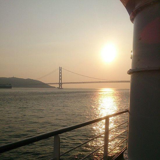 夕日がきれーい♡
