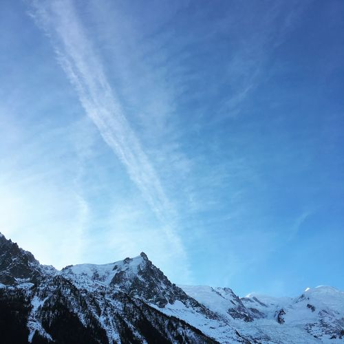 Beauty In Nature Cloud - Sky Cold Temperature Day Mountain Mountain Peak Nature Outdoors Scenics - Nature Sky Snow Snowcapped Mountain Tranquility Winter