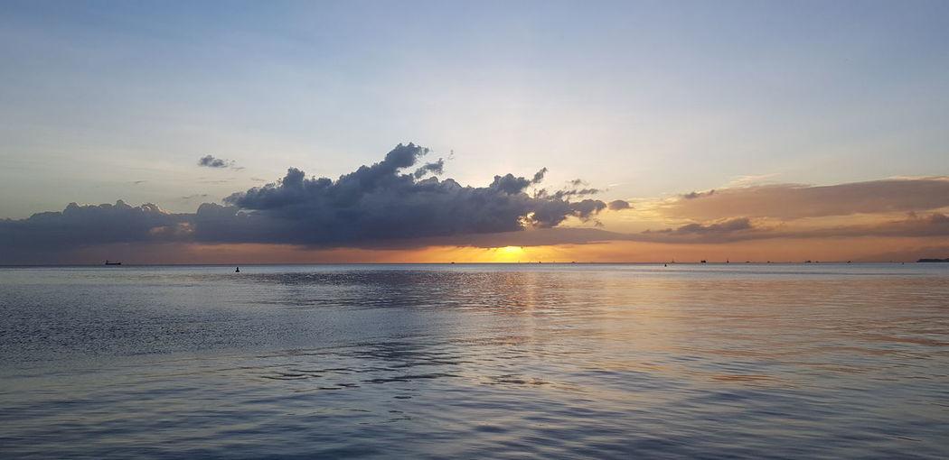 Water Sea Sunset Mountain Dawn Beach Tree Beauty Blue Sun Seascape Island Coast Coastline EyeEmNewHere