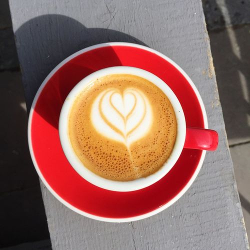 Süslü kahve ☕️ Coffee Coffee Time Coffee ☕ Coffeeaddict Coffeeporn Coffee And Sweets Photooftheday Machiatto Heart ❤ IPhoneography IPhone Iphonesia Iphone6plus
