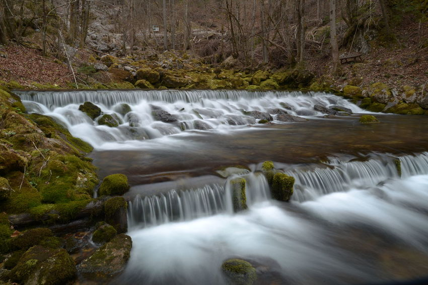 Beautiful Beauty In Nature Blue Wave Blurred Motion Easter Forrest Green Long Exposure Motion Nature No Leafs River Road Showcase April Sparkling Spring Stream Water Water Falls Water Motion Water Motions Water Source Waterfall The Great Outdoors - 2016 EyeEm Awards Wintertime