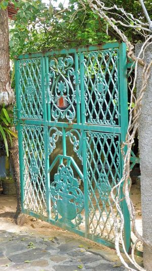 Sri Lanka Architecture Building Exterior Built Structure Day Gate No People Outdoors Protection Security