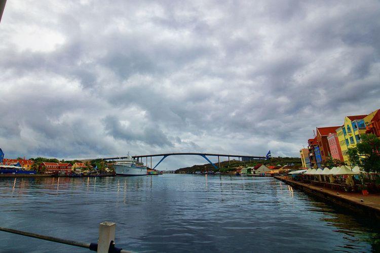 Handelskade Schottegat Architecture Bridge Building Exterior Built Structure Cloud - Sky Queen Juliana Bridge Water
