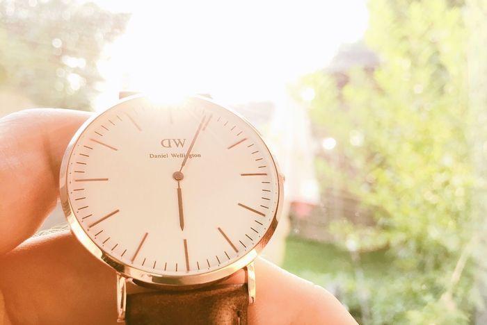 Some shots of my watch Danielwellington Watch Sun Bokeh