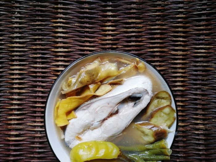 Milk Fish Sinigang 01 | Food And Drink Indoors  Directly Above Food Seafood Table No People Freshness Fish Plate Healthy Eating Close-up Ready-to-eat Day Freshness Philippines Filipino Food Milk Fish Bangus Fish Recipe