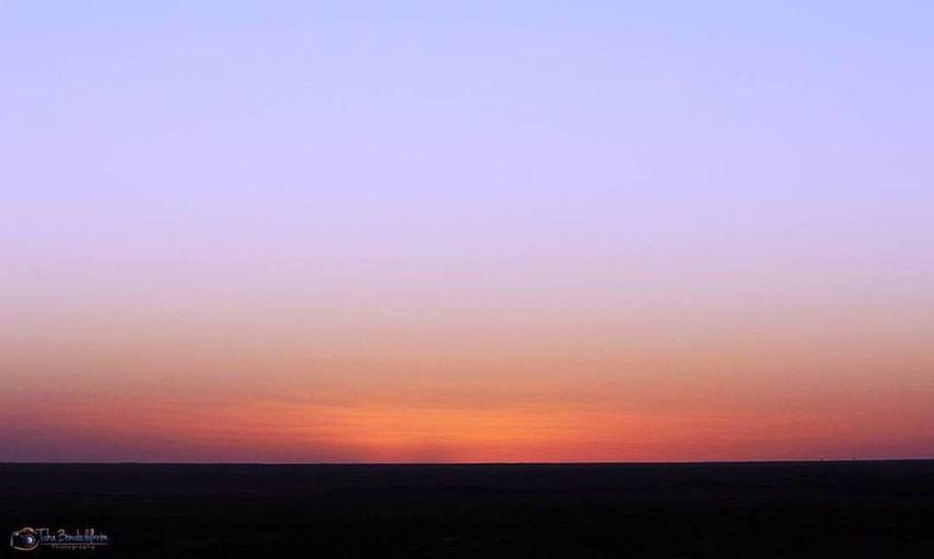 Sunset Sky Scenics - Nature Horizon Beauty In Nature Environment Tranquility Tranquil Scene