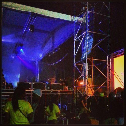 Backstage waiting for Jacob and Kassav! Kassav Festival Zouk