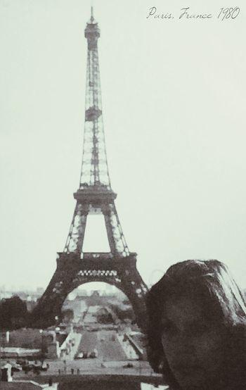 Travel Destinations Tower City History Architecture Built Structure Paris 1980