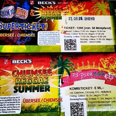 Auf Gehts Bayern CRS chiemseerocks chiemseereggaesummer bayern summer music party camping love lifestyle 5 days @vanywee