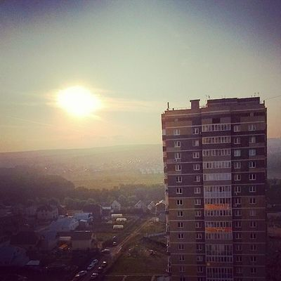 доброеутротатарстан доброеутроРоссия казань утро ilovekazan summer sky sun cityscape goodmorning july instaday татарстан до свиданияиюль МояКазань