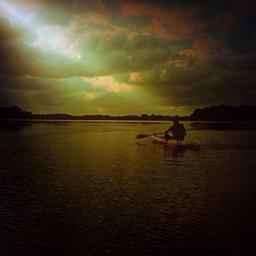 Following last light. Tadaa Community Water Collection  Eyem Best Shots Nature_collection Kayaking