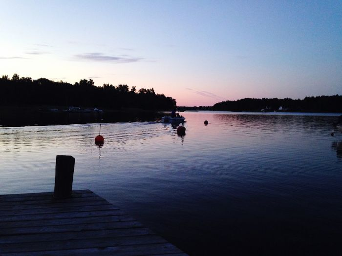 Summer Sweden Night Boats View Life Friends June Sunset Colours