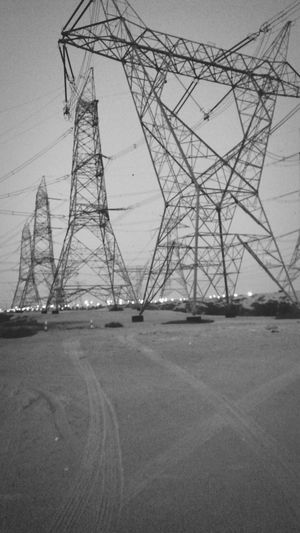 Structures & Lines Grids Carrier Electricity Tower Metalwork Giant Monster