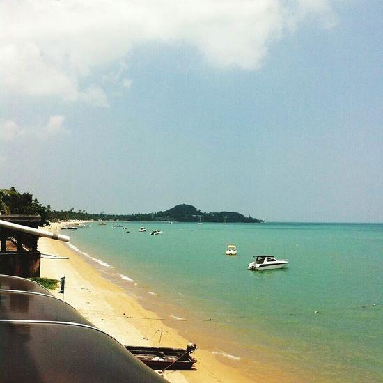 Mars 2012 Bophut Kosamui Thaïlande Asie Landscape Beach Beachphotography Travels Voyages