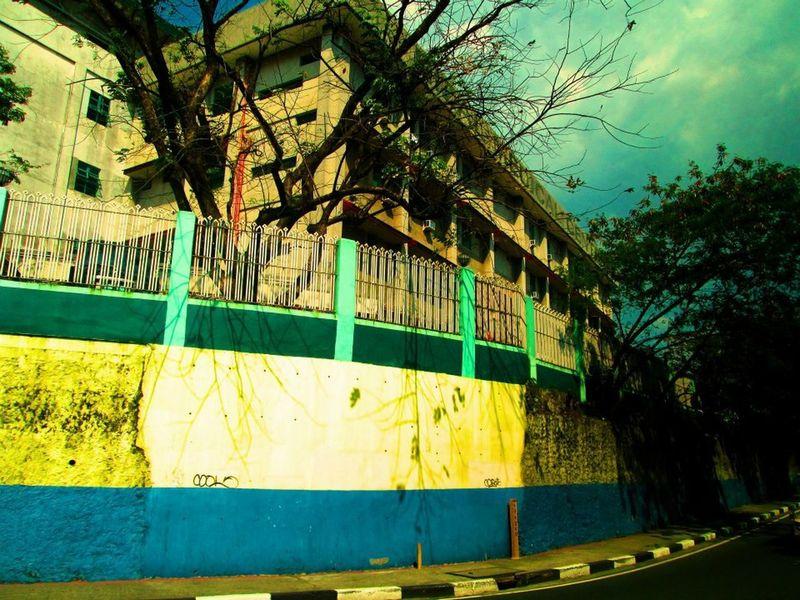 School Building Moving Van First Eyeem Photo