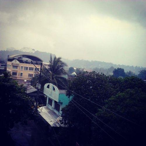 Gloomy Weather. Makes me sad :( Raining