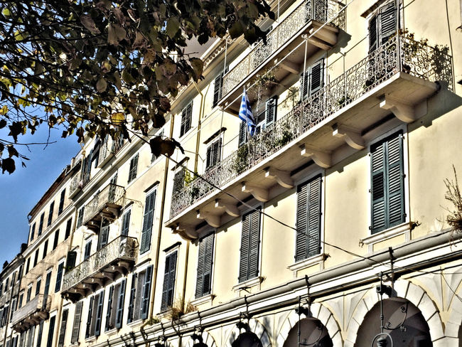 Architecture Balcony Building Building Exterior Built Structure City Culture Exterior Façade Historic History Low Angle View Perspective Residential Building Residential Structure Window