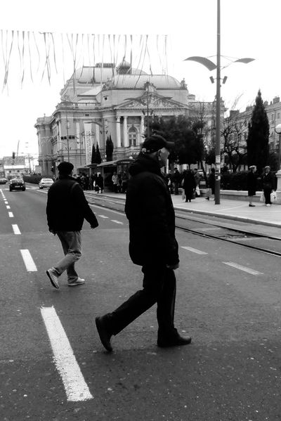 Walk This Way Blackandwhite Photography Black And White Fortheloveofblackandwhite On Fire 😁 Streamzoofamily Streetphotography Discover Your City Tadaa Community Taking Photos ...