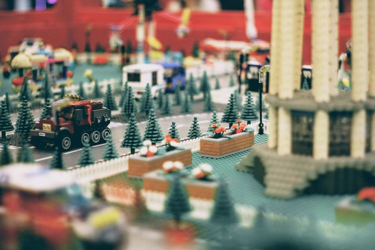 Selective Focus Built Structure Architecture No People Building Exterior City Tilt-shift Close-up Building Large Group Of Objects For Sale Outdoors High Angle View Still Life Backgrounds Small Figurine  Day Store