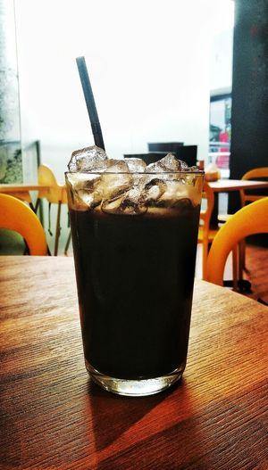 Traditionally Malaysian style 'black' coffee roast (Kopi-O Ice) Malaysian Style Coffee Time Coffee Break Ice Coffee Black Coffee Roast Kopi O Ice Serving Size Sweet Food Freshness