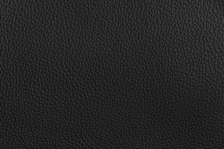 Textured  Backgrounds Textile Material Close-up Pattern Black Color Leather Black Background Dark Blank Background