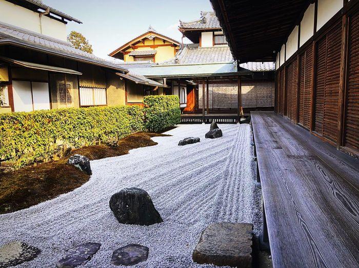 瑞峯院 大徳寺 Kyoto,japan Travel Destinations Tranquil Scene Tranquility Japan Photography Architecture Built Structure Day Building Exterior The Way Forward Outdoors No People