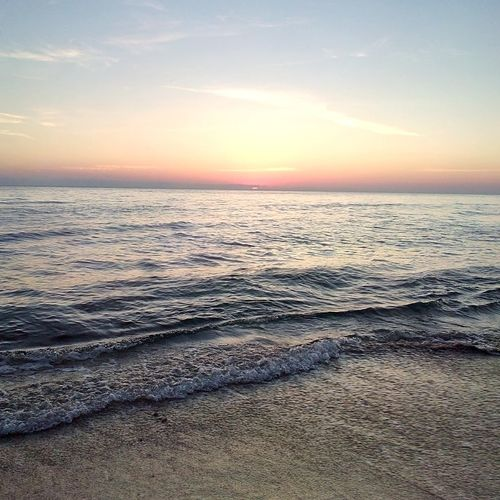 Relaxing Taking Photos Sunrise Beachphotography Byme🌠 Sun Seaside