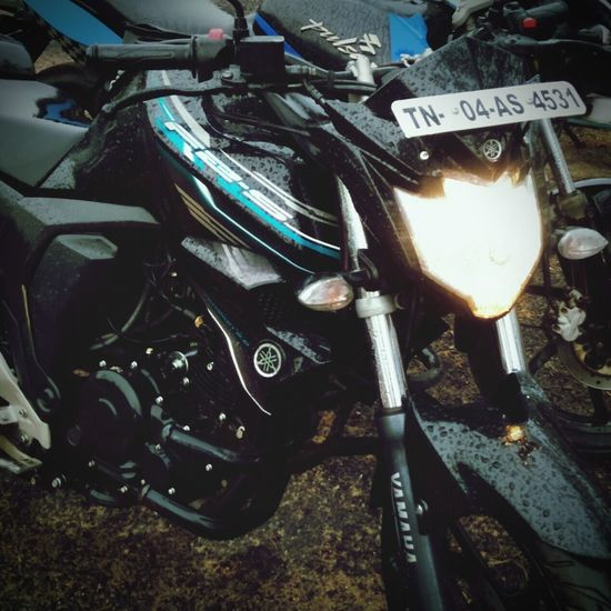 No matter how bad my day is..... My bike will always make me feel better..... Fzs ............♥ First Eyeem Photo