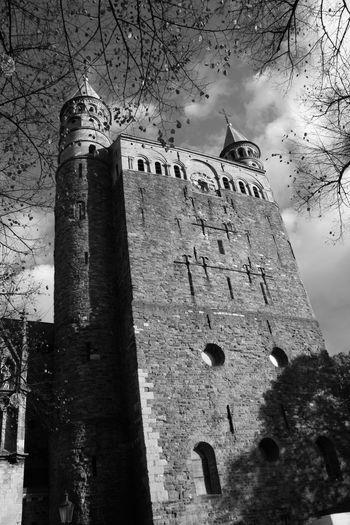 Black & White Maastricht Holland MedievalTown Turrets Black And White Collection  Black And White Photography Blackandwhite Maastricht Maastricht,NL Medieval Medieval Architecture Medieval City Turret Turret Building