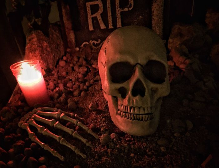 Happy Halloween to all of you!!! 💀👻 Human Skull Candle Halloween Close-up Halloweendecor Trickortreattime Spooky Candlelight Homedecorations Autumn Time Diademuertos Halloweentime Sabadell, Barcelona Eyeemtrickortreat