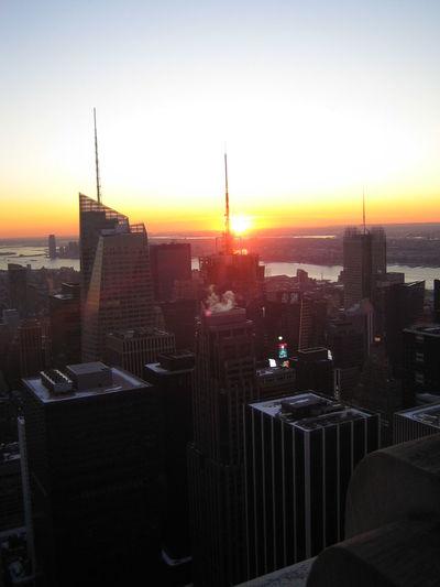 NYC New York City Skyscraper Skyscrapers Urbanphotography Big City Sunsetovercity Sunset Urban Manhattan