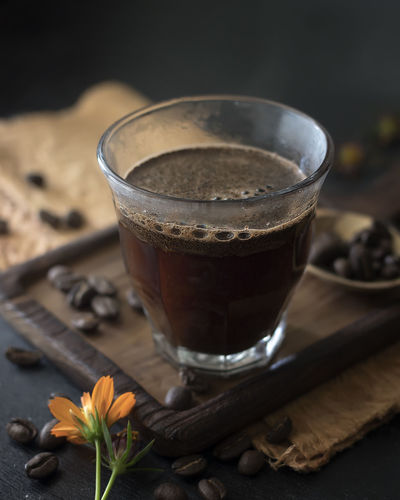 Coffee - Food and Drink Photo Collections Coffee Coffee At Home Coffee Shop Coffee Time Coffee ☕ Food And Drink Lifestyle Close Up Close-up Coffee - Drink Coffee Bean Coffee Break Coffee Cup Coffeelover Coffeetime Drink Drinking Drinking Glass Hot Coffee Hot Drink Lifestyles Table