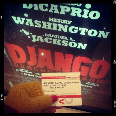 """In love with """"Django Unchained""""..."""