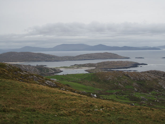 The Ring of Kerry, October 2011. Mountain Landscape Outdoors Nature Rural Scene Beauty In Nature Grass Winding Road Day Cultures Mountain Range No People The Ring Of Kerry Ireland Travel Destinations Travel Photography Vacation