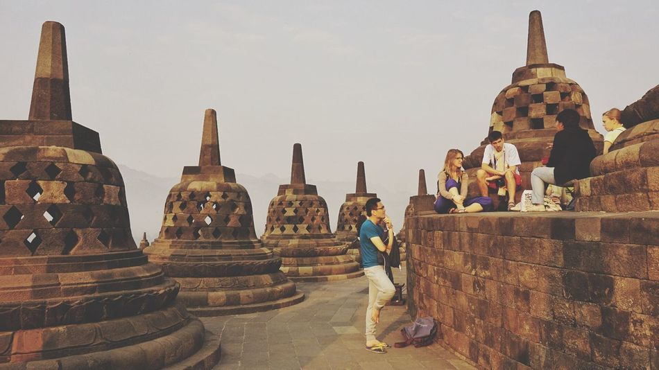 Travel Travel Photography Traveling INDONESIA Yogjakarta Borobudur Ancient Ancient Architecture People Tourist Attraction