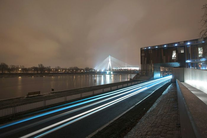 Bridge National Stadium Warsaw Photography In Motion