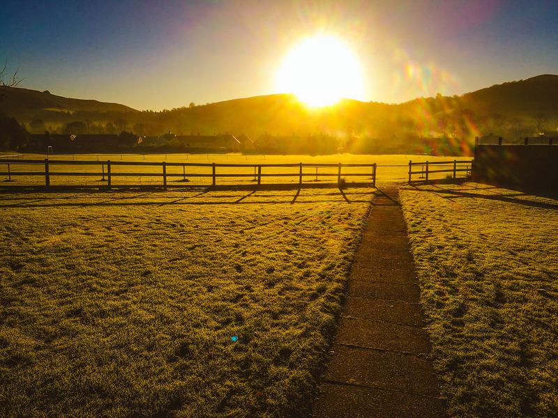 Church Stretton Shropshire Hills Sunset_collection Sunlight And Shadow Sunset Sunrise Landscape Landscape_photography Hills Hills And Valleys Grass Outdoors Nature