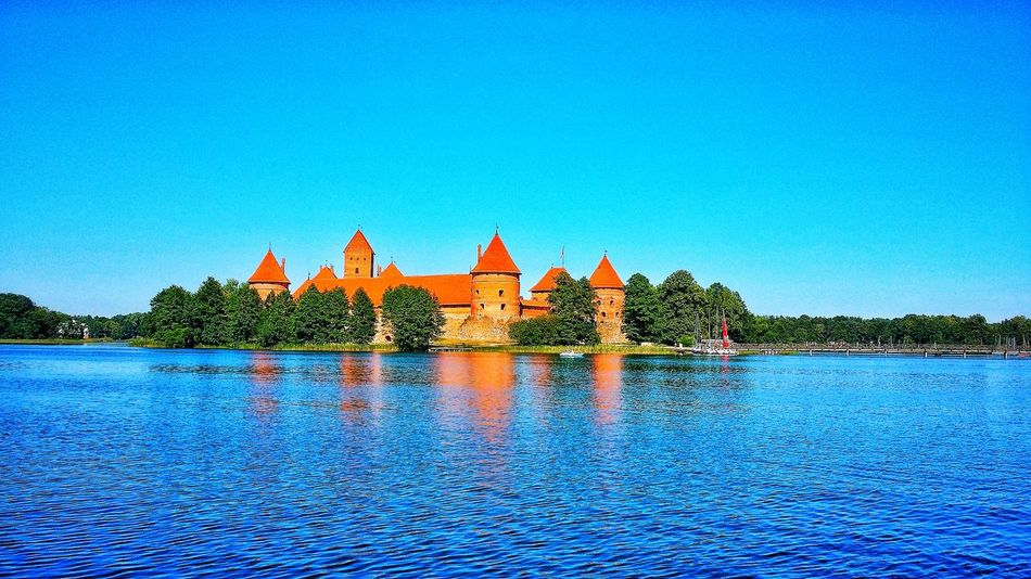 Architecture Water Clear Sky Sky Travel Destinations Outdoors Castle Castle Tower