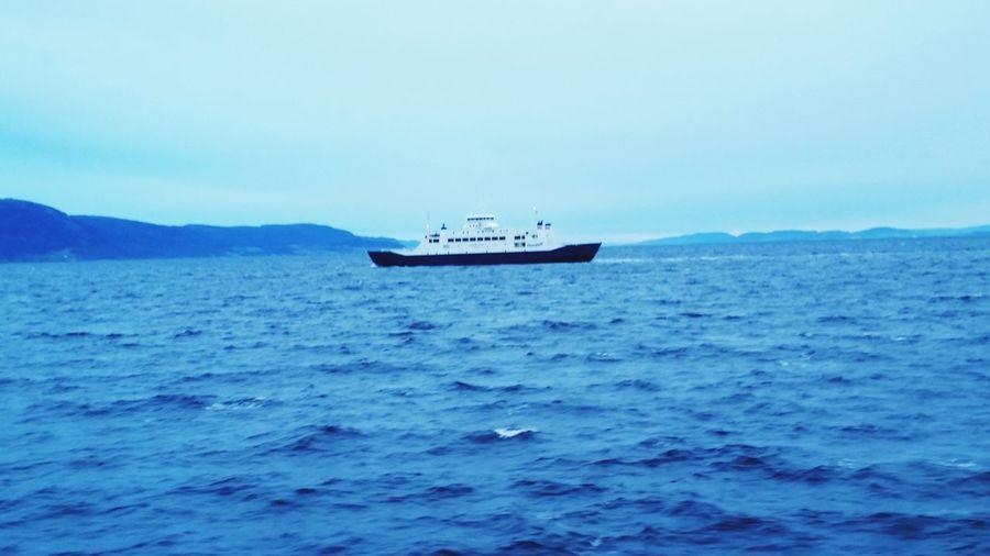 The EyeEm Facebook Cover Challenge Ship Sea