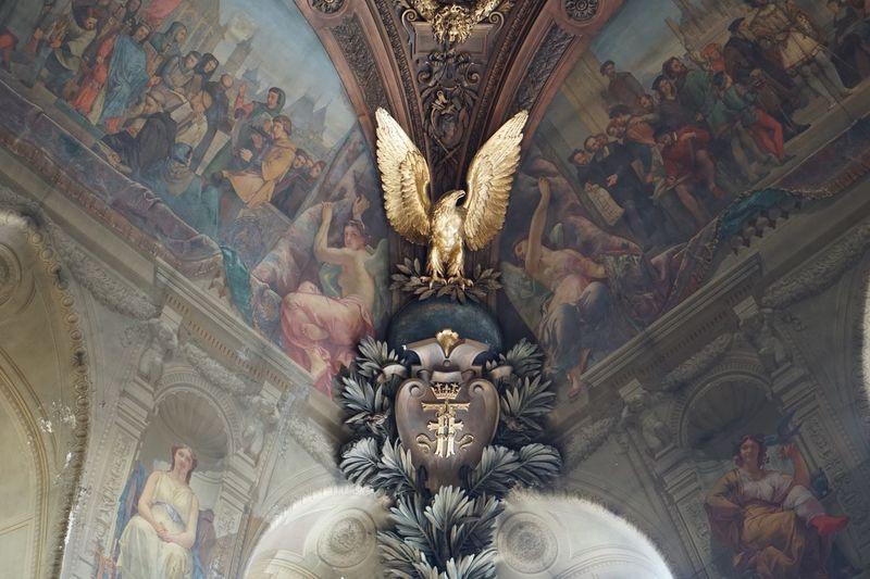 EyeEm Selects Louvre Human Representation Architecture Louvre Musee Musée Du Louvre Louvremuseum Museo De Louvre Arte Art Mural Historia Painting