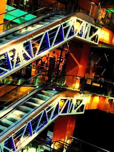Stairs Andorra TagAlong Urban Geometry Architecture Lights Architecture_collection Architecturelovers Architectural Detail Architectureporn