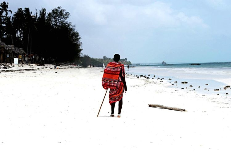 Masai Zanzibar Travel Photography Tanzania Island Traveling