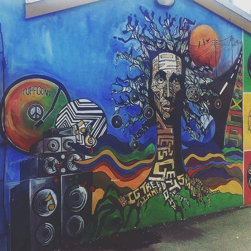 Bob Marley_art Kingston Jamaica Jammin