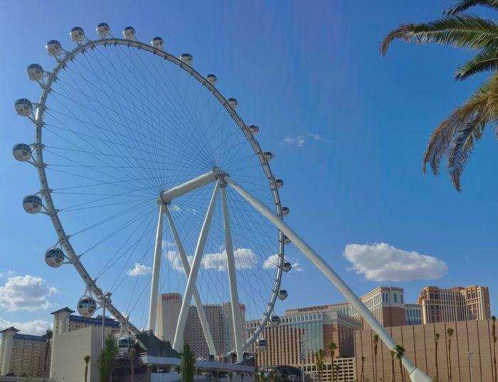 Big wheels keep on turnin'. World Record Holder High Roller Taking Photos Enjoying Life