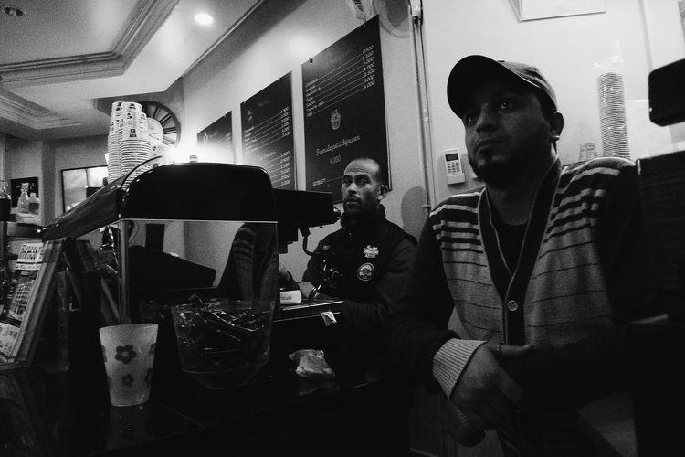 The café boys Blackandwhite Leicacamera Bw Tunis Tunisia Dlux4 Tunisie Men Sitting